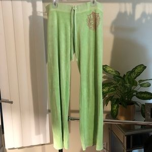 Juicy Couture Green Pants